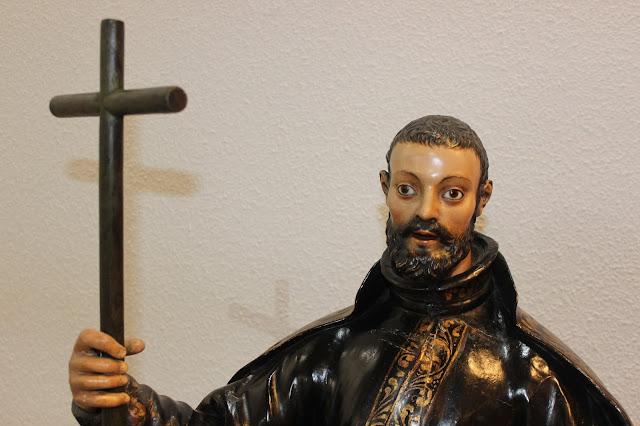 San Francisco Javier en la capilla del IEME