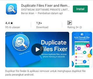Cara Cek dan Hapus File Duplikasi Di Android dengan Duplicate File Fixer
