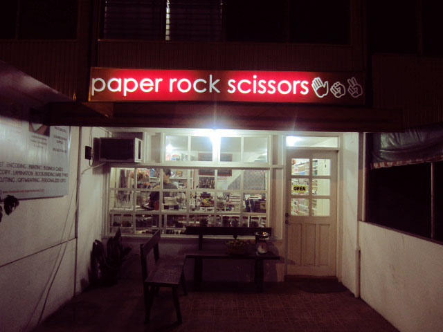 The Late Bloomer: Places: PaperRockScissors the Perfect