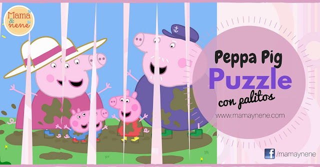 PUZZLE-PEPPA-KIDS-CRAFT-MAMAYNENE