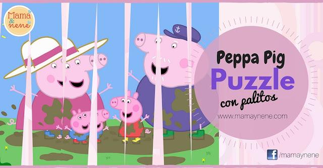 PUZZLE-PEPPA-KIDS-CRAFT-MAMAYNENE