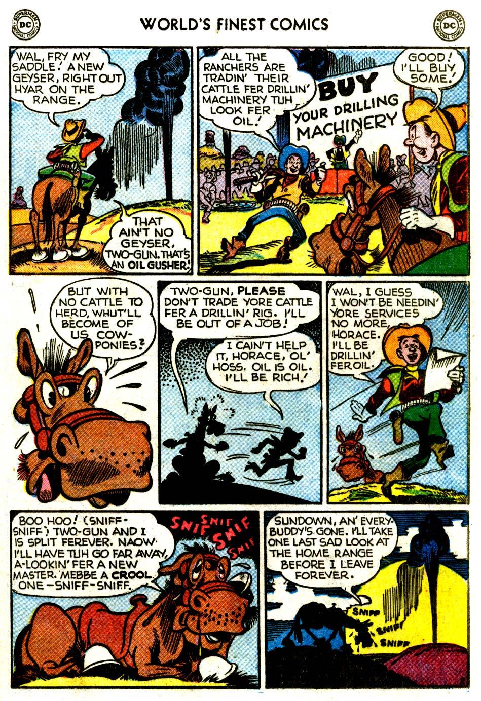 Read online World's Finest Comics comic -  Issue #68 - 39