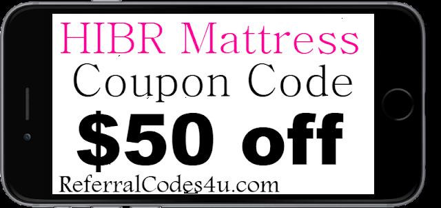 HIBR Mattress Discount Coupon Code 2021 Jan, Feb, March, April, May, June, July