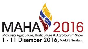 Tarikh dan Aktiviti Menarik Pameran MAHA 2016