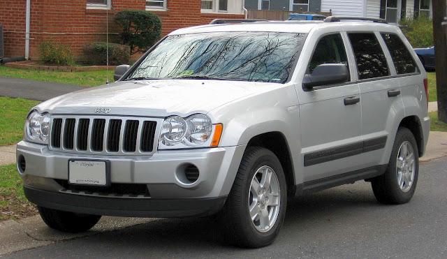 Jeep convoca Cherokee para recall - suspensão
