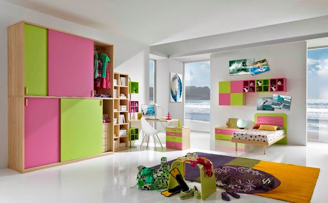 Colorful Girls Bedrooms