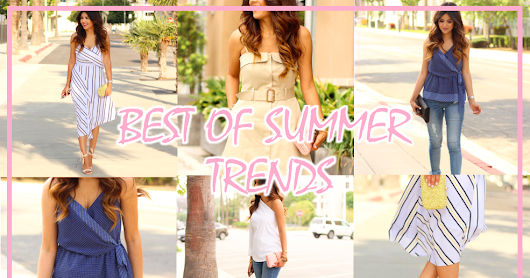 Favorite Summer Trends with Banana Republic