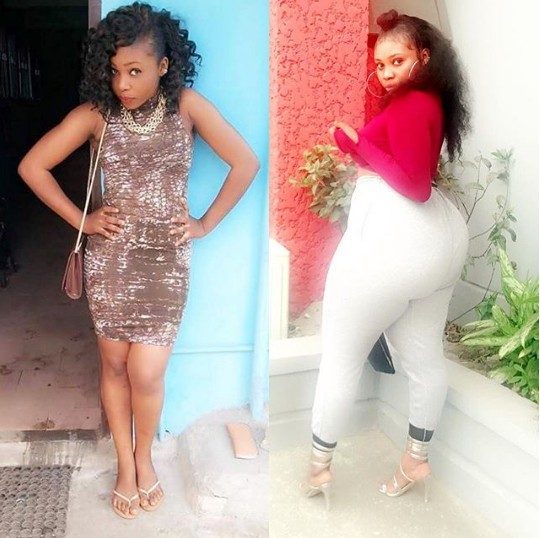 From Thin To Thick & Curvy: Lady Shares Her Transformation Within 3 Years (Picture)
