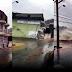 VÍDEO: Chuva forte provoca desabamento de prédio em Imbé