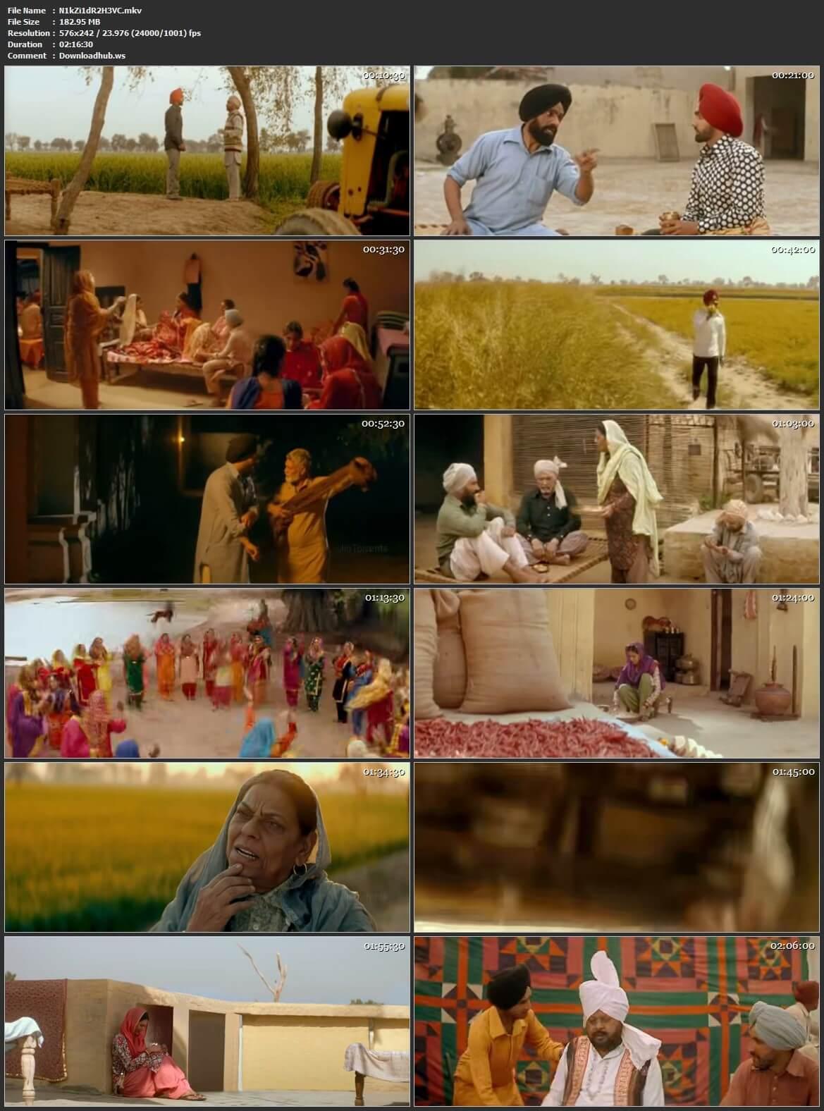 Nikka Zaildar 2 2017 Punjabi HEVC Mobile HDRip