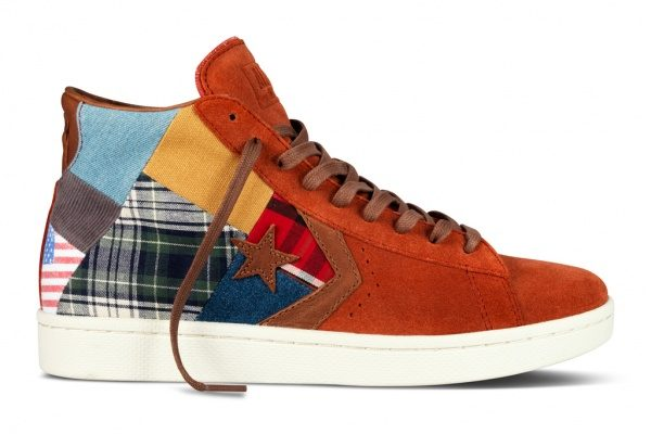 b8e4e92d0d9c The X-Stylez  Stussy NYC For Converse  First String Pro Leather  Shoes