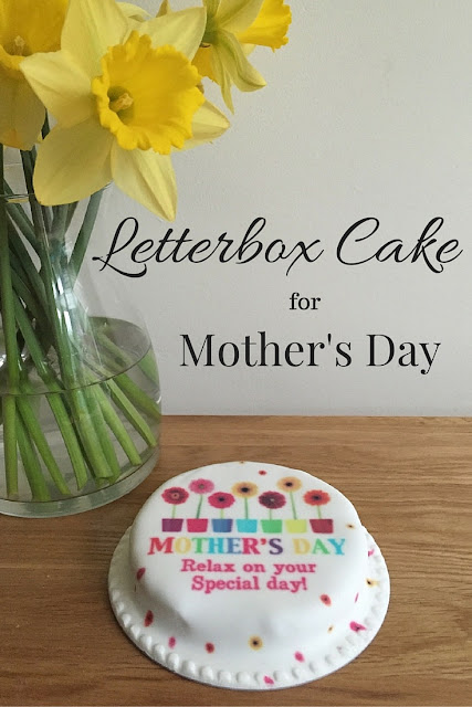 Letterbox Cake for Mother's Day by BakerDays