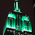 Empire State Building turning green to mark the beginning of Climate Week NYC