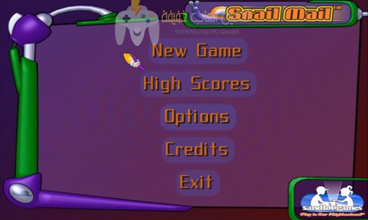 تحميل لعبة الدودة الشقية Snail Mail للكمبيوتر برابط مباشر