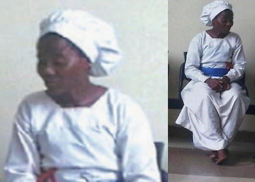 prophetess burns daughter body
