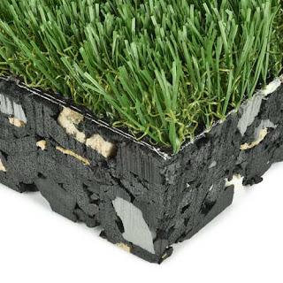 Greatmats padded playground turf grass