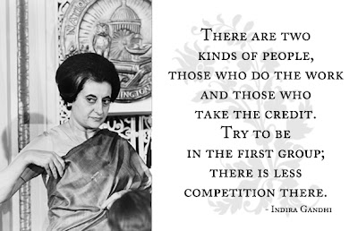 Indira Gandhi Quotes and Speeches