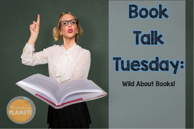 Wild about Reading animal bookmark Freebie!