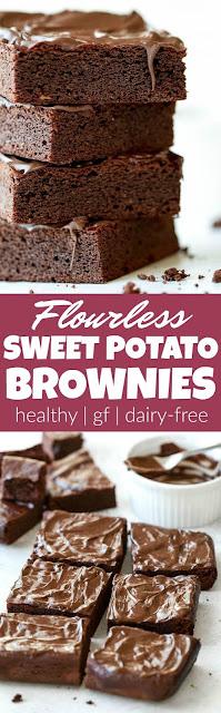 Flourless Sweet Potato Brownies