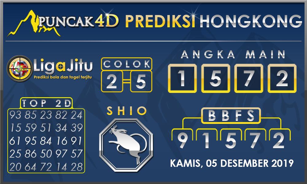 PREDIKSI TOGEL HONGKONG PUNCAK4D 05 DESEMBER 2019