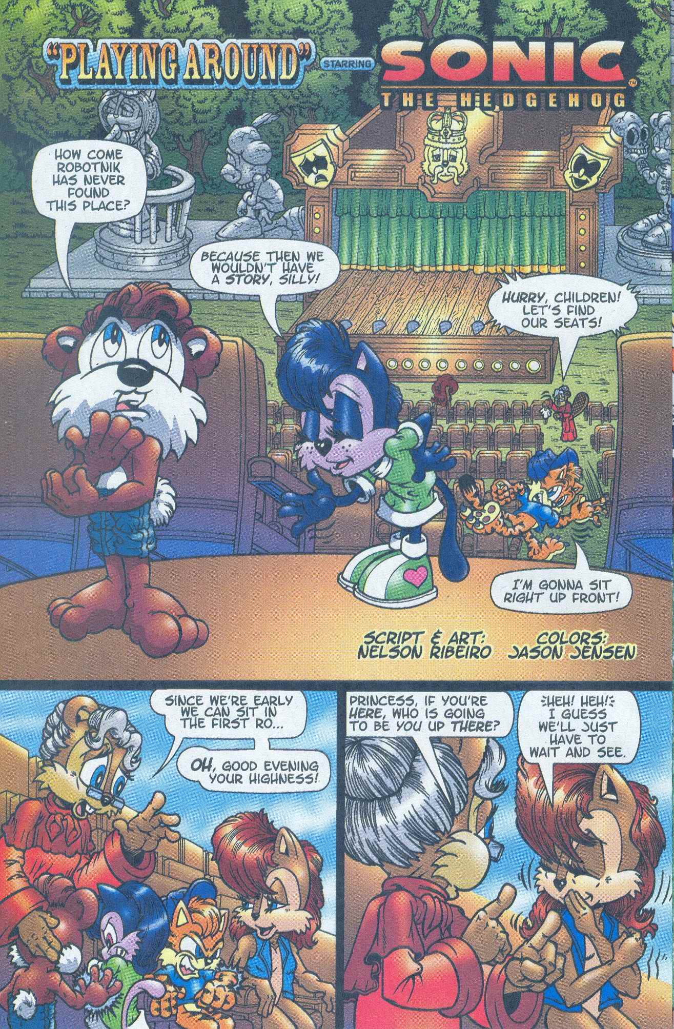 Read online Sonic The Hedgehog comic -  Issue #148 - 14