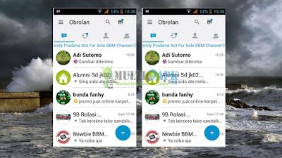 BBM Mod I-Phone Update Versi 2.13.1.14 Apk