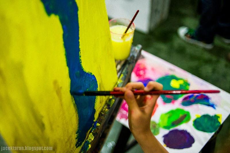 noc naukowcow, krakow, 2013, dziecko, malarstwo, akademia sztuk pęknych