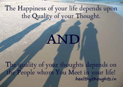 beautiful quotes on life with images:the happiness of your life depends upon the quality of your thought.