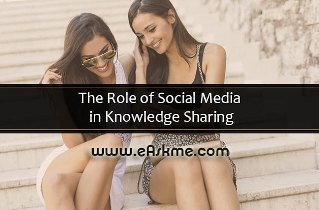 The Role of Social Media in Knowledge Sharing: eAskme