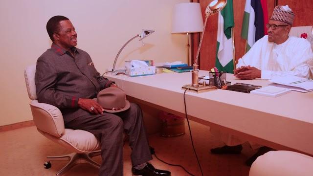 President Buhari Congratulates Obiano