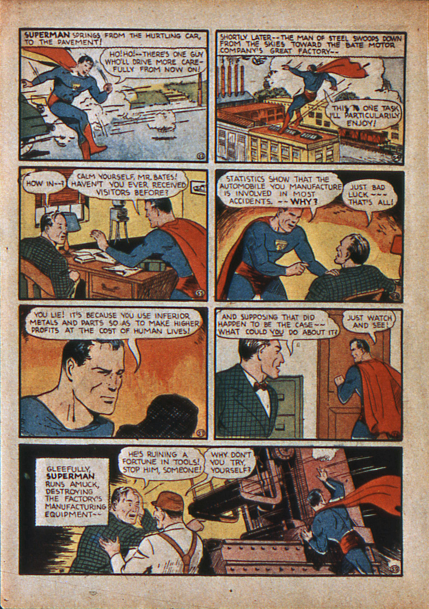 Read online Action Comics (1938) comic -  Issue #12 - 11