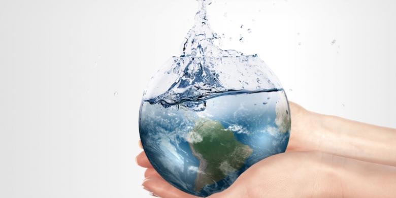 Melalui Tangan Sendiri, Kita Lestarikan Lingkungan dan Air untuk Kelangsungan Hidup.