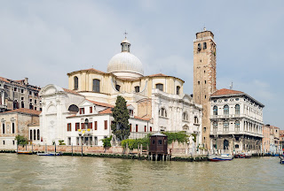 The church of San Geremia sits by the junction of the  Grand Canal and the Cannaregio Canal