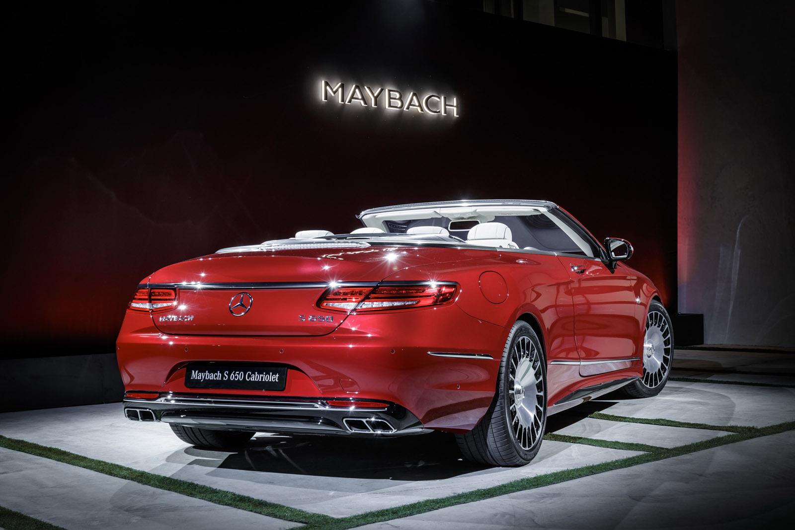 2018 mercedes maybach s650 sedan gets amg 39 s big torquey twelve carscoops. Black Bedroom Furniture Sets. Home Design Ideas