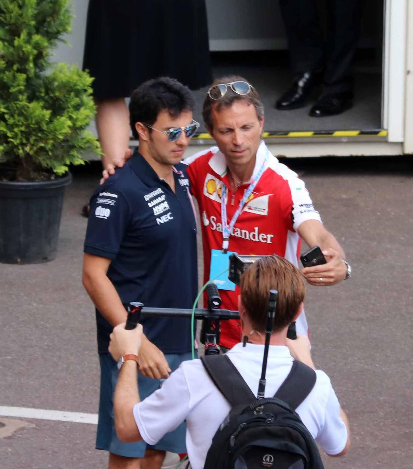 Force India -kuljettaja