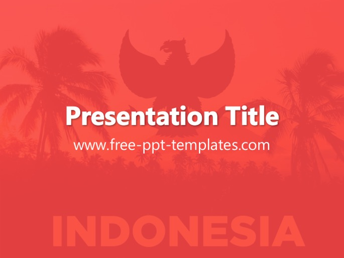 Indonesia PPT Template