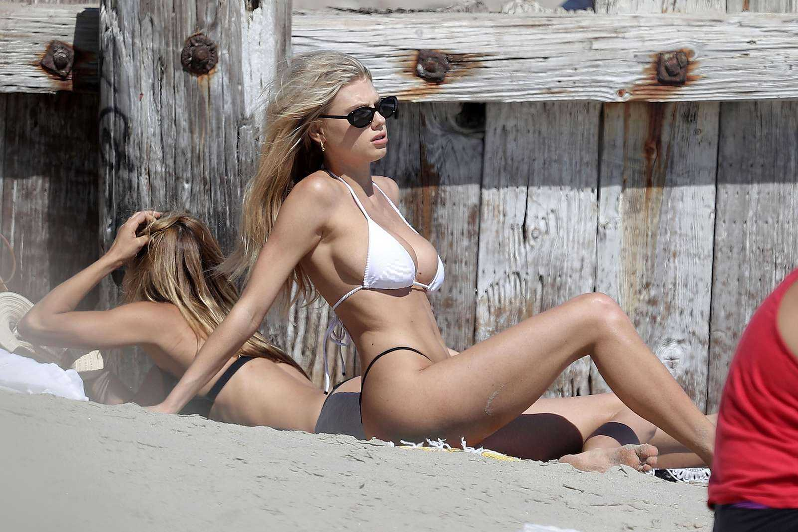 Charlotte McKinney Hot Bikini Photo Gallery