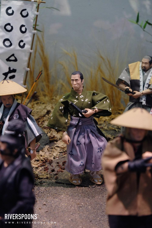 Riverspoons Studios: Toei Kyoto Studio: Alfrex Samurai Diorama