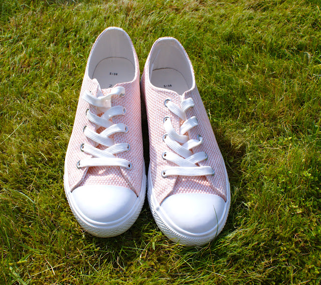 New Look Pink Trainers