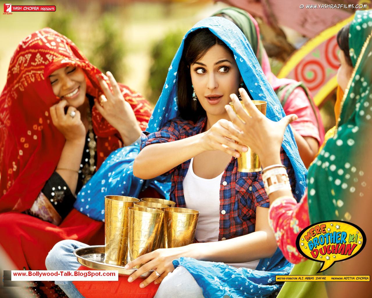 Katrina Kaif In Mere Brother Ki Dulhan  Hot Wallpapers