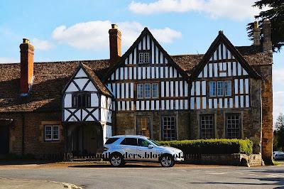 Elizabethan building, Lacock village, Wiltshire, UK
