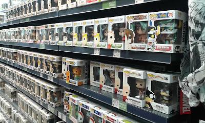Funko Pop em loja do Florida Mall: compre 2 e ganhe 1.