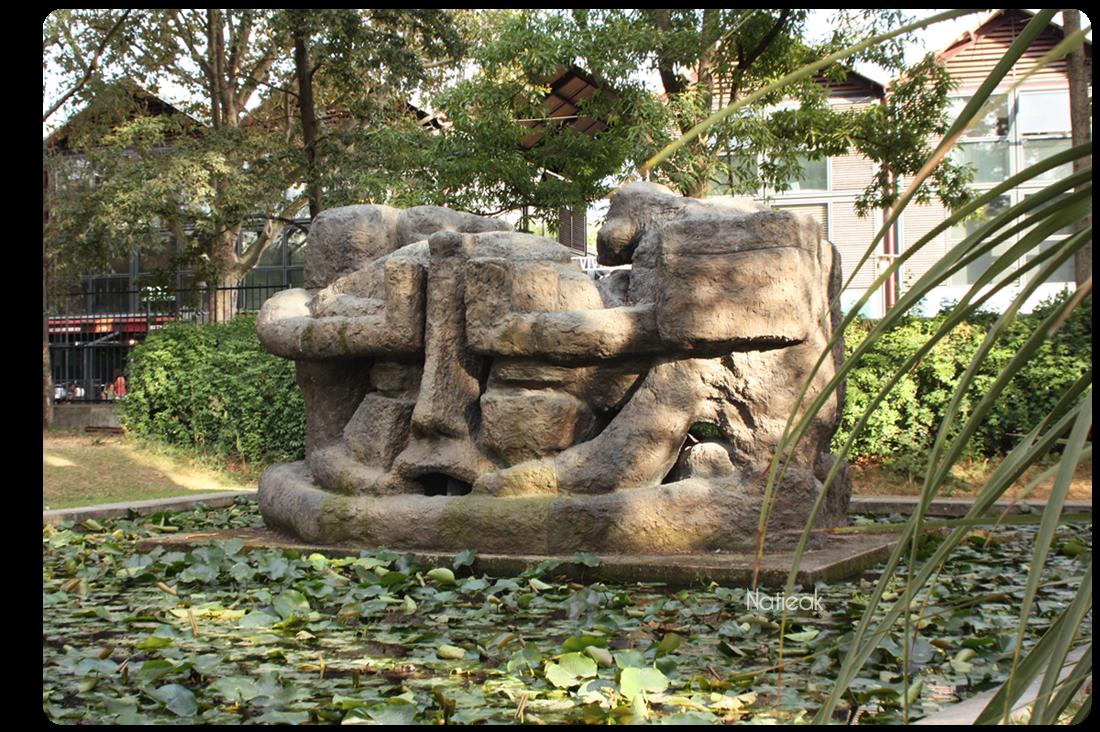 Demeure 10 d'Etienne Martin Parc Bercy Jardin Yitzhak Rabin
