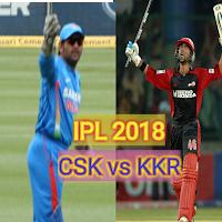 Cricket live score, IPL live 2018 CSK vs KKR