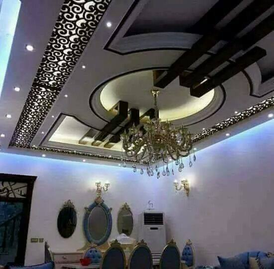 30 Creative Ceiling Decorating Ideas That Will Make Your: CNC Ceiling Design Ideas