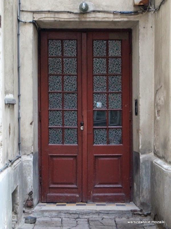 zabytek Kamienica Adolfa Dybicza Warszawa Praga Północ warszawska Praga drzwi
