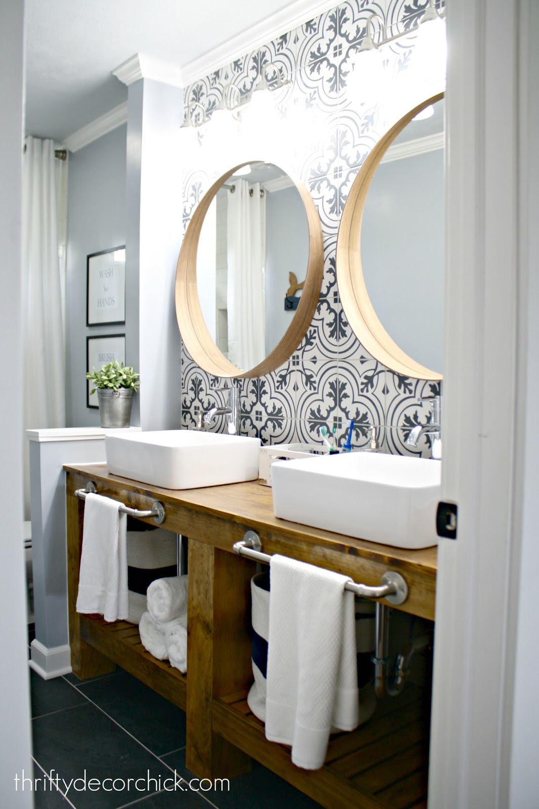 Ideal Incredible bathroom renovation reveal