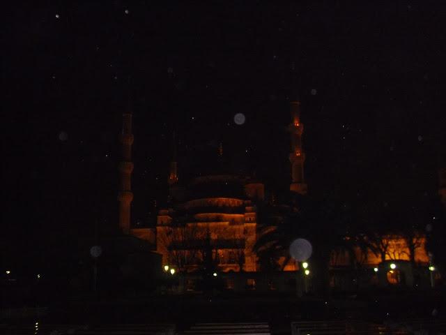 Santa Sofía de noche en Estambul
