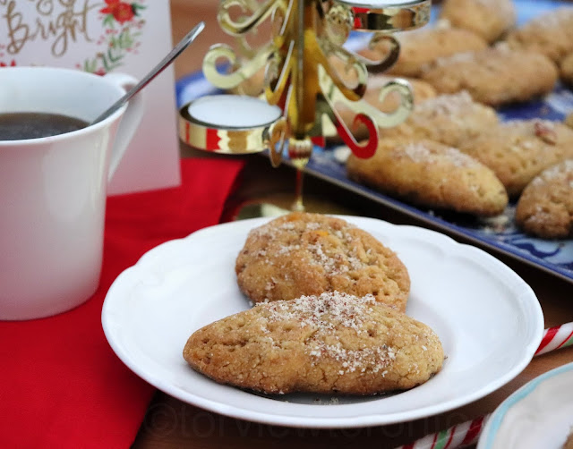 greek honey cookies melomakarona