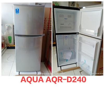 kelebihan dan kekurangan kulkas aqua aqr d240